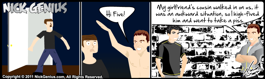 Comic Strip: High Five