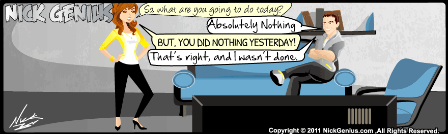 Comic Strip: Nothing