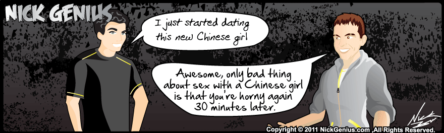 Comic Strip: Chinese Girls