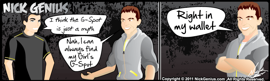 Comic Strip: G-Spot