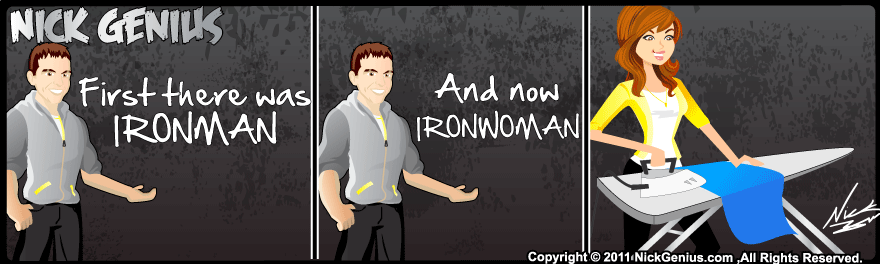 Comic Strip: IRONWOMAN