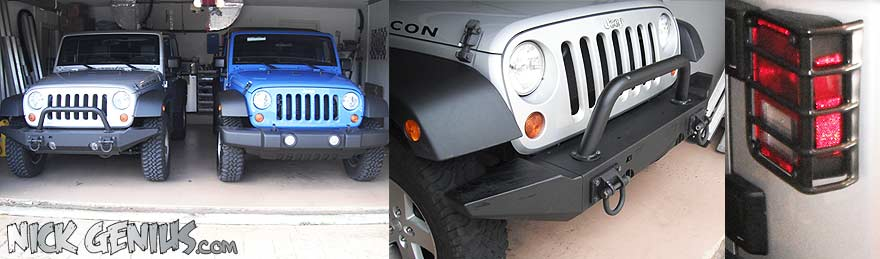 Jeep Mods: Rugged Ridge Bumper
