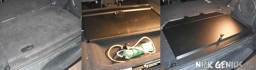 Jeep JK Locking Cubby Cover
